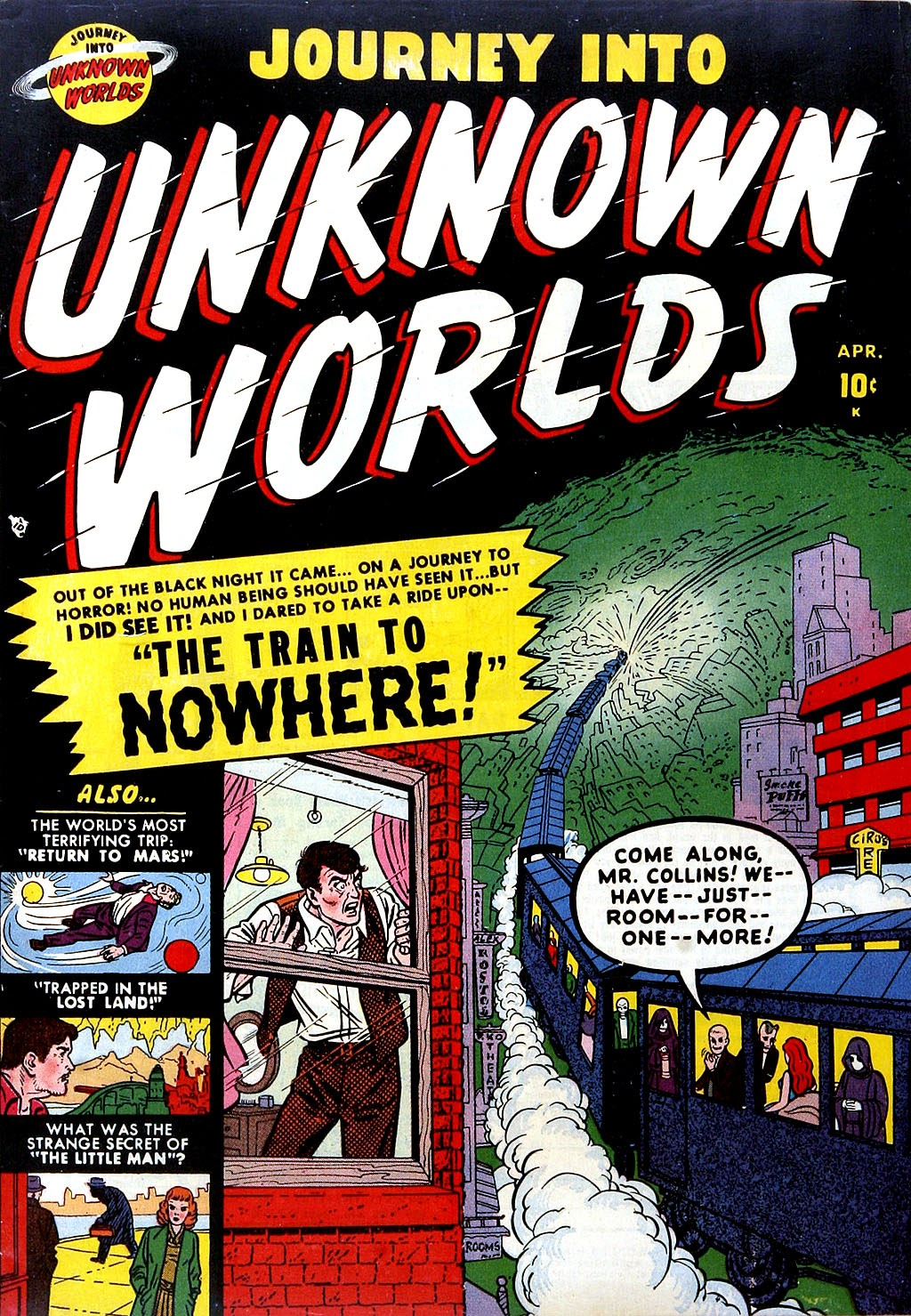 Journey Into Unknown Worlds (1950) issue 4 - Page 1