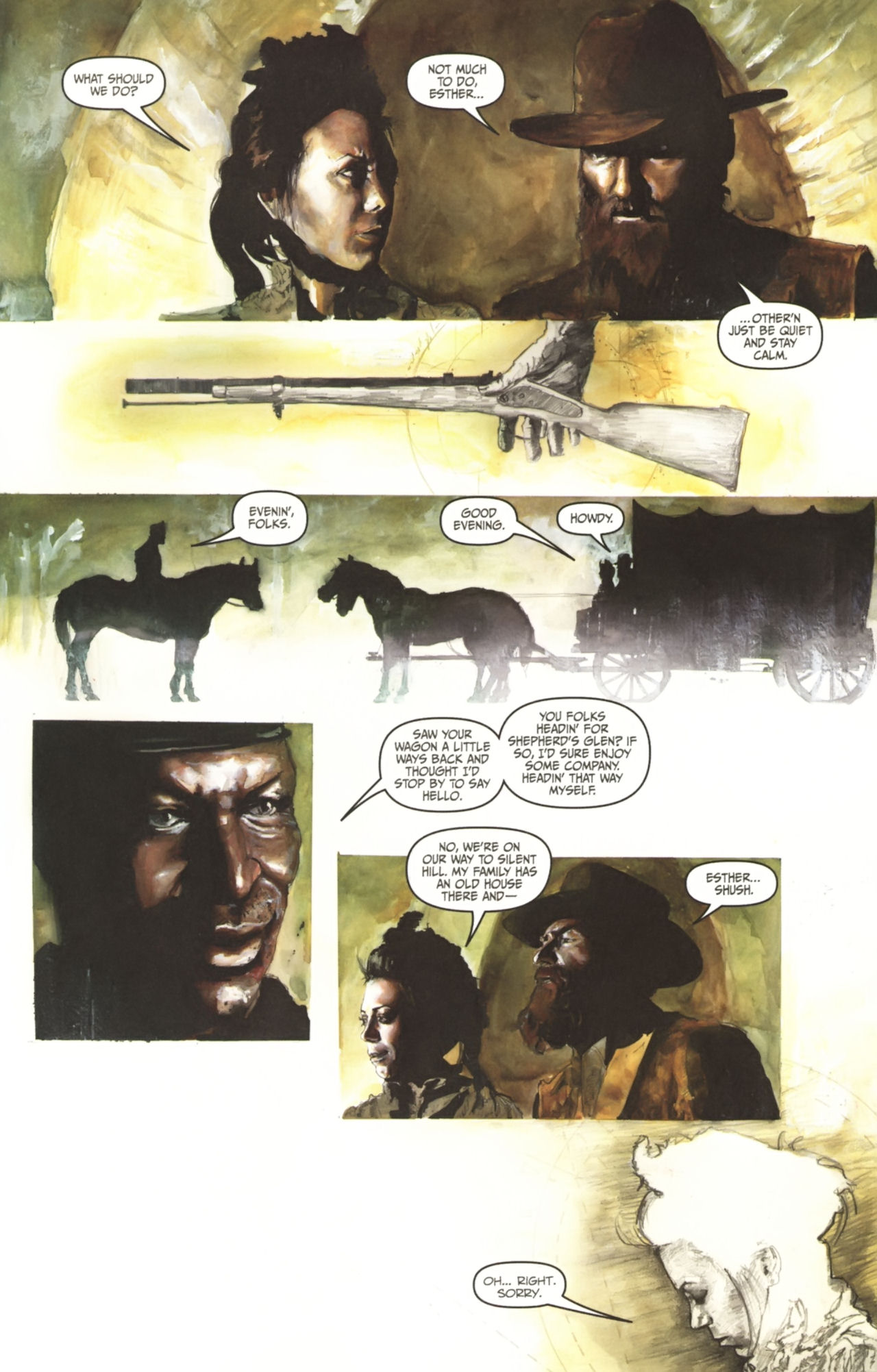 Read online Silent Hill: Past Life comic -  Issue #1 - 6