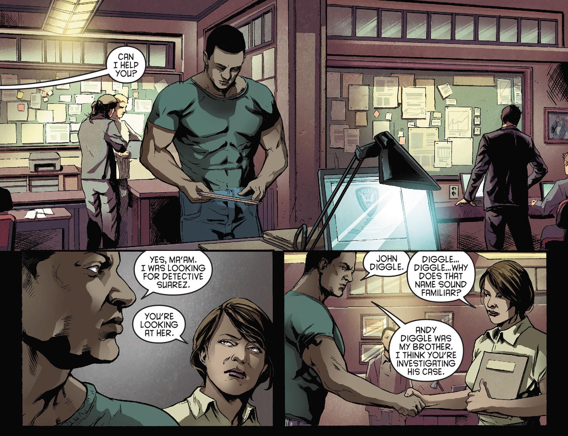 Read online Arrow [II] comic -  Issue #28 - 11