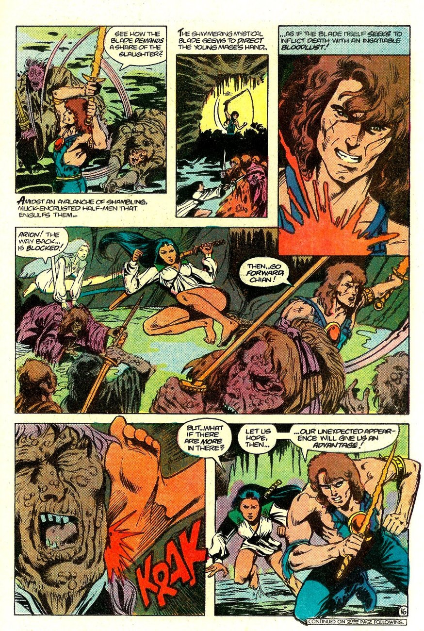 Read online Arion, Lord of Atlantis comic -  Issue #15 - 17