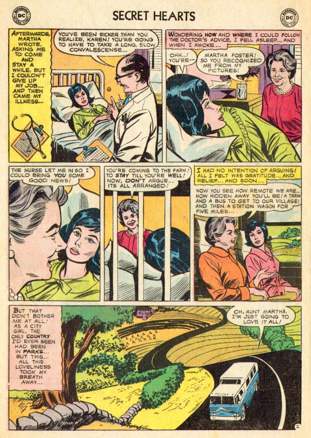 Read online Secret Hearts comic -  Issue #101 - 4