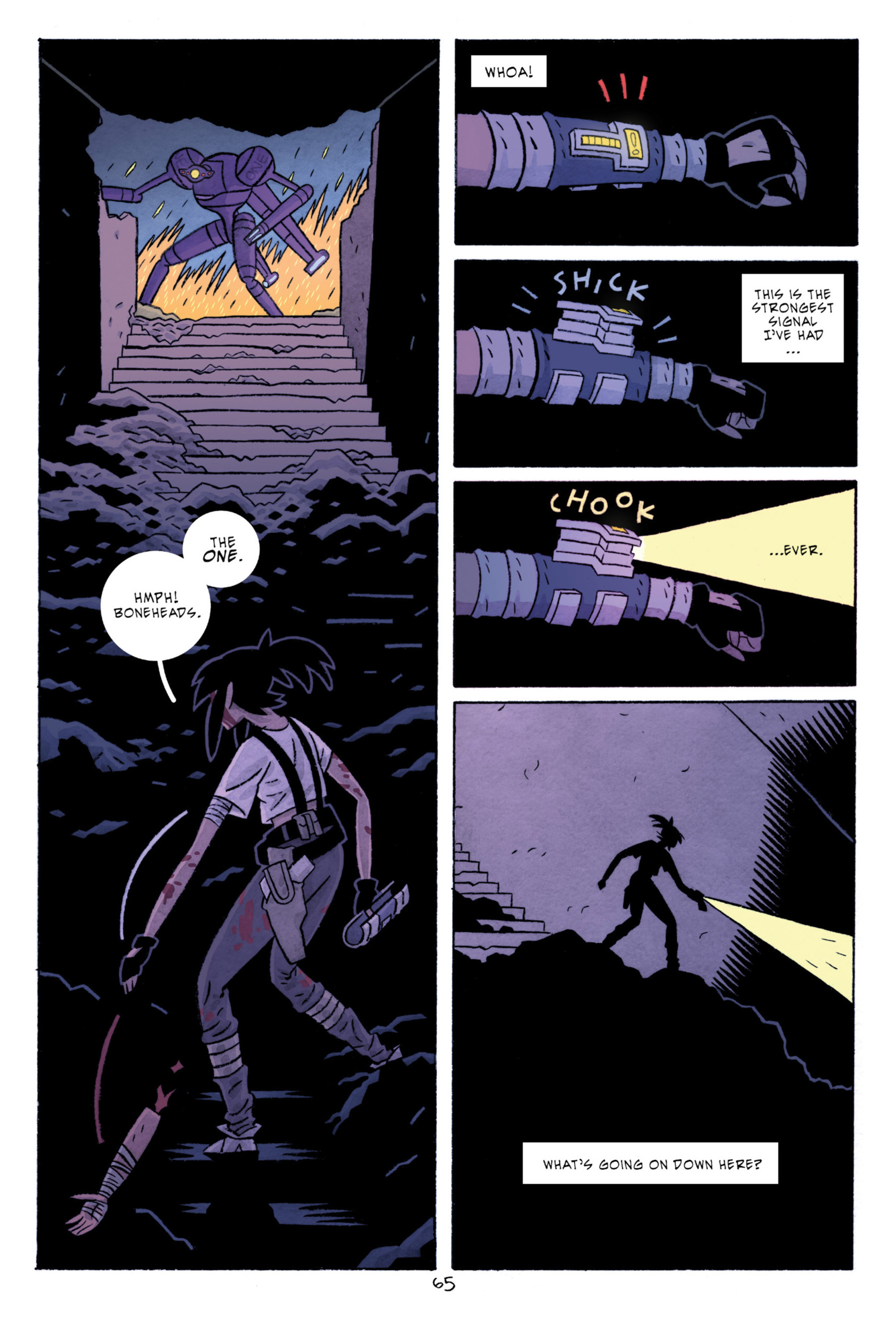 Read online ApocalyptiGirl: An Aria for the End Times comic -  Issue #ApocalyptiGirl: An Aria for the End Times Full - 73