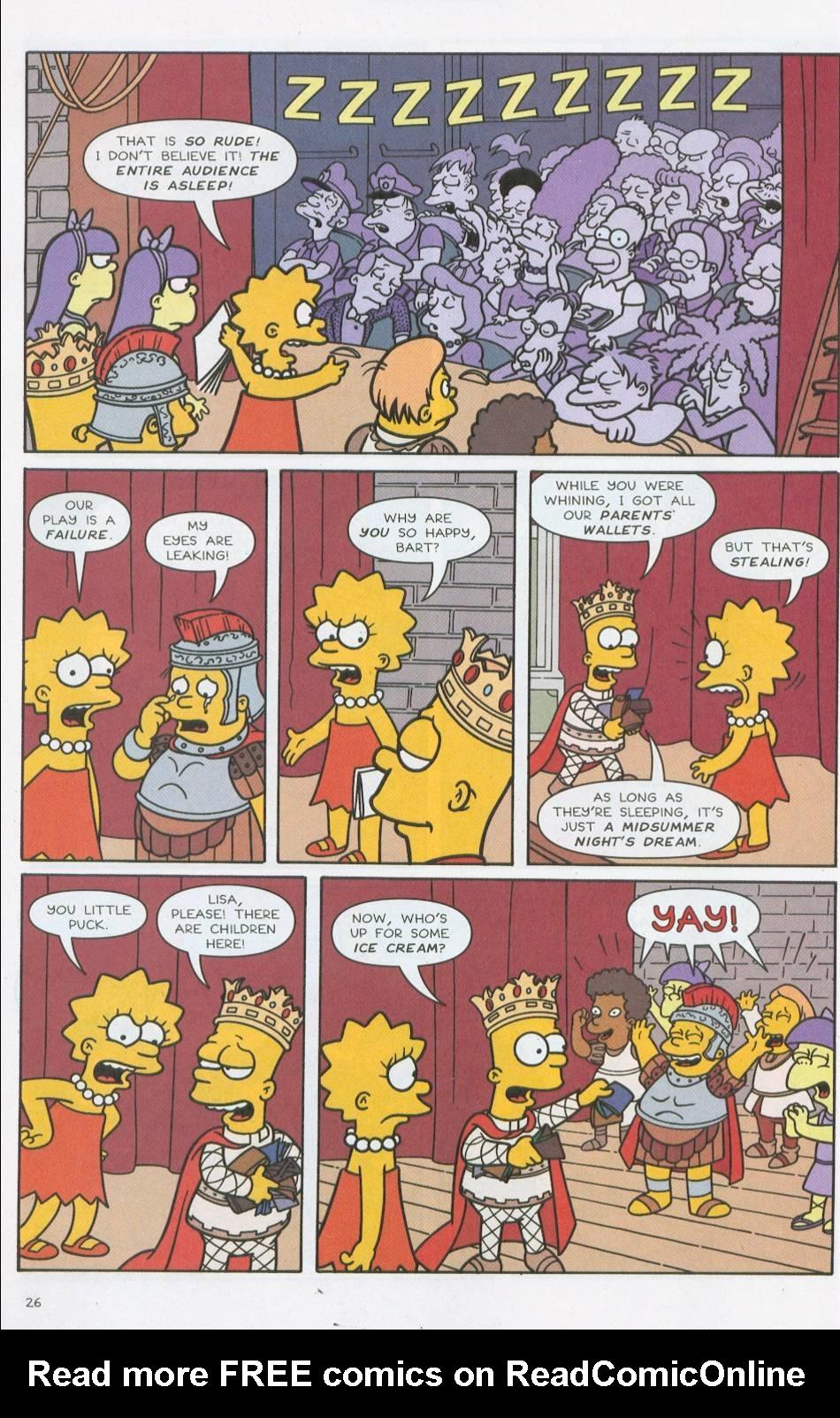 Read online Simpsons Comics comic -  Issue #76 - 27