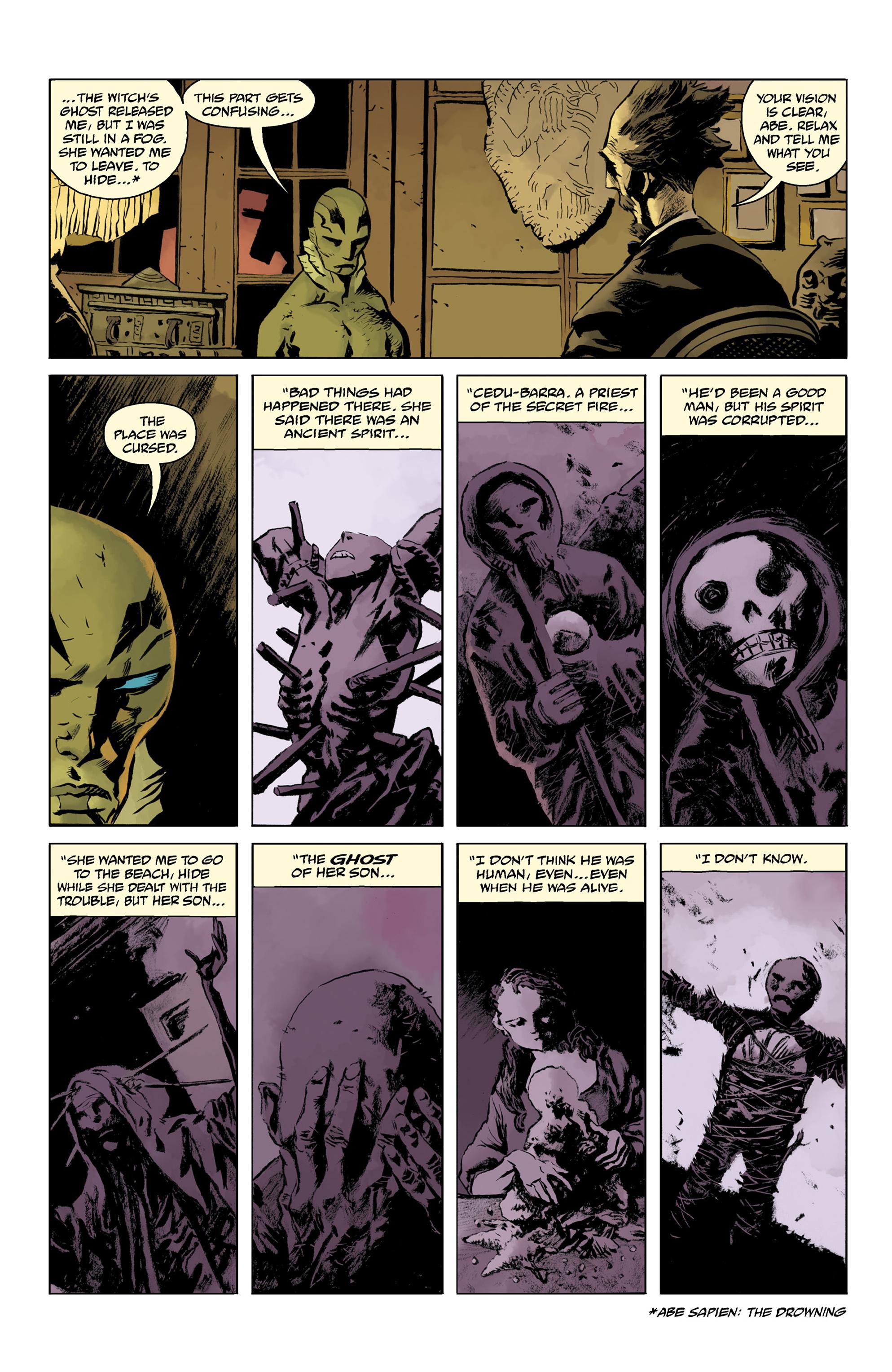 Read online Abe Sapien comic -  Issue #32 - 20