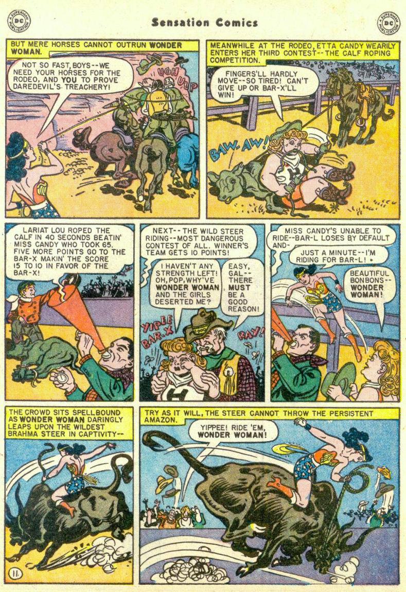 Read online Sensation (Mystery) Comics comic -  Issue #67 - 13