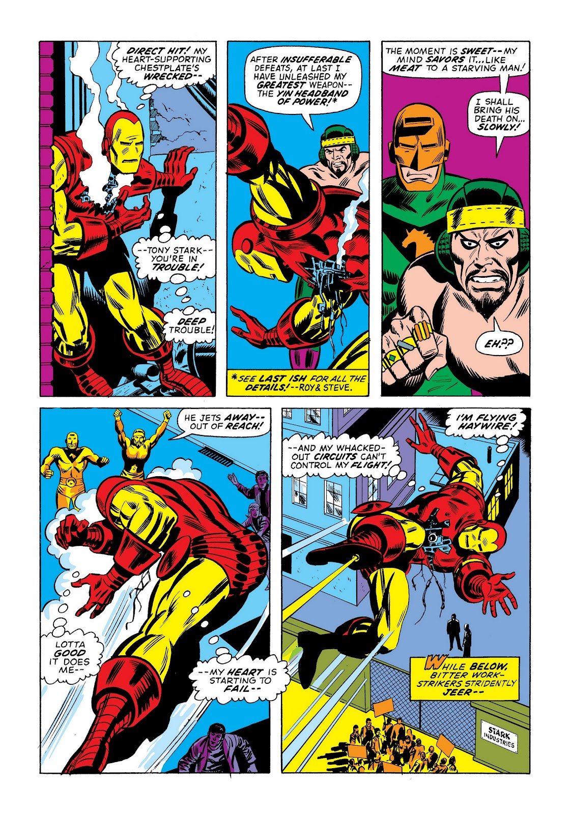 Read online Marvel Masterworks: The Invincible Iron Man comic -  Issue # TPB 9 (Part 1) - 93