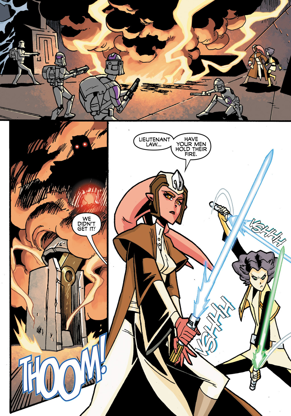 Read online Star Wars: The Clone Wars - Defenders of the Lost Temple comic -  Issue # Full - 18