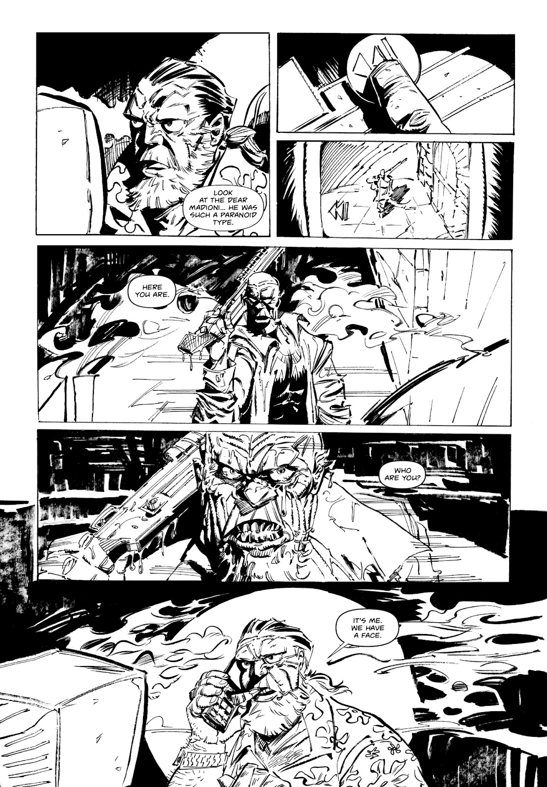 Read online Wrath of God comic -  Issue # _TPB - 33