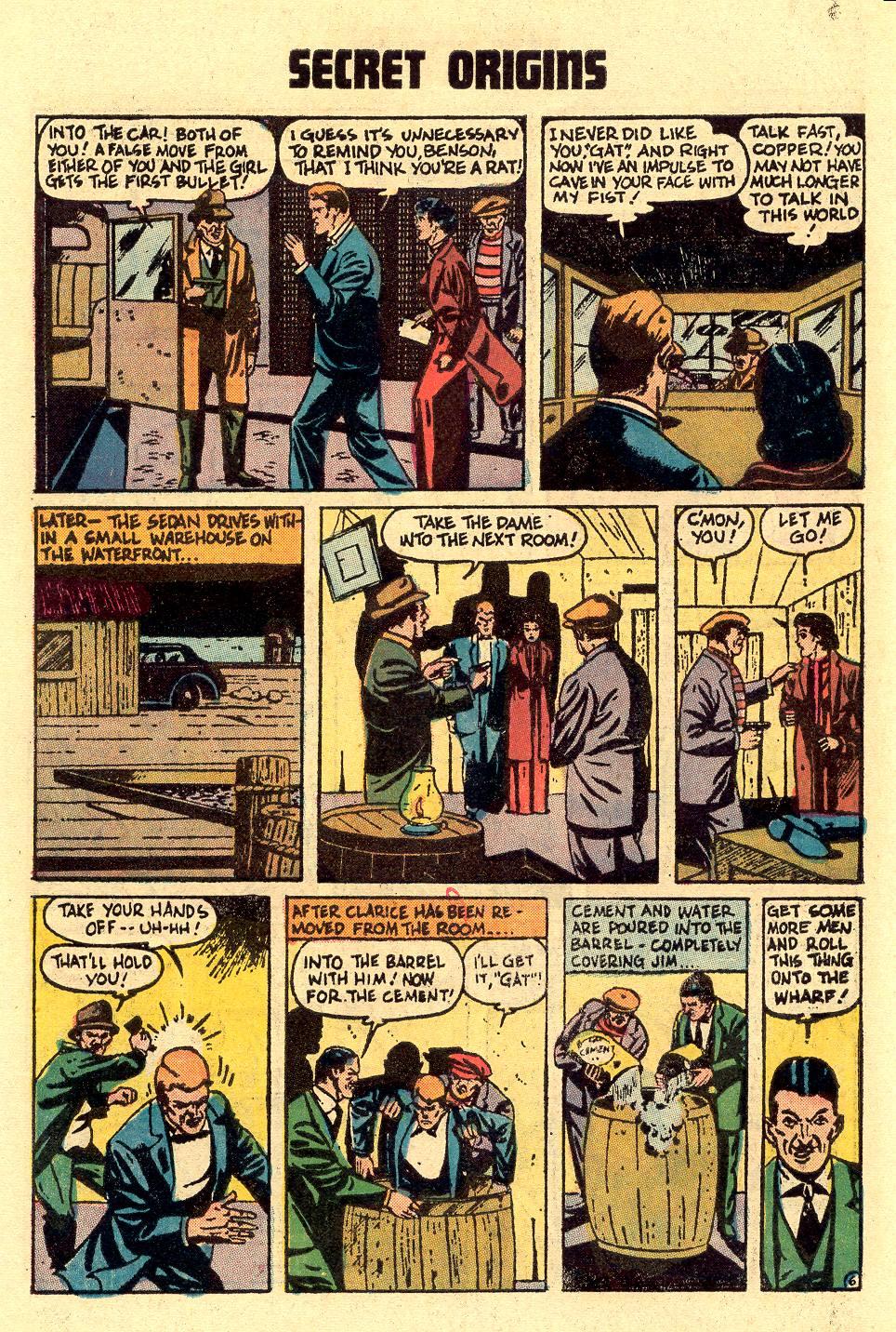 Read online Secret Origins (1973) comic -  Issue #5 - 10