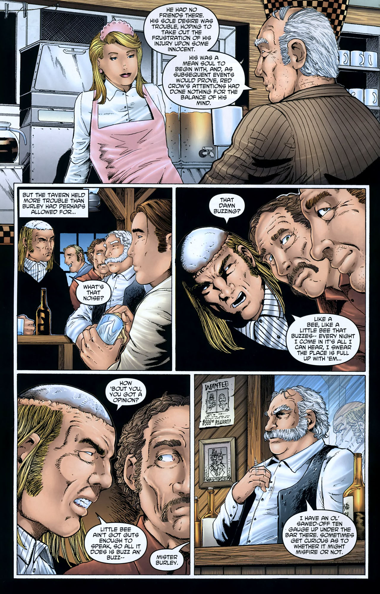 Read online Garth Ennis' Streets of Glory comic -  Issue #5 - 4