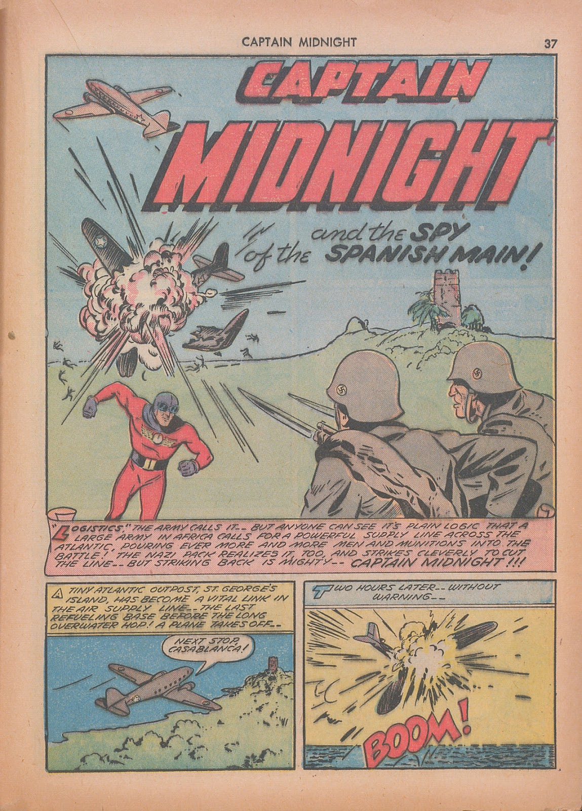 Captain Midnight (1942) issue 7 - Page 37