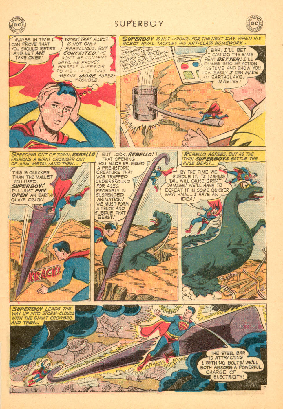 Superboy (1949) issue 72 - Page 8