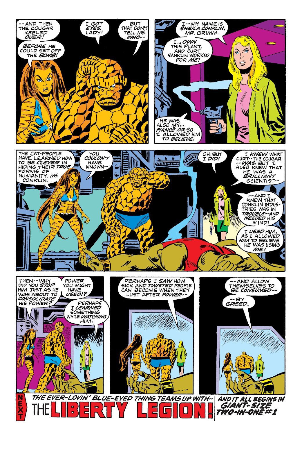 Read online Marvel Two-In-One Epic Collection: Cry Monster comic -  Issue # TPB (Part 4) - 120