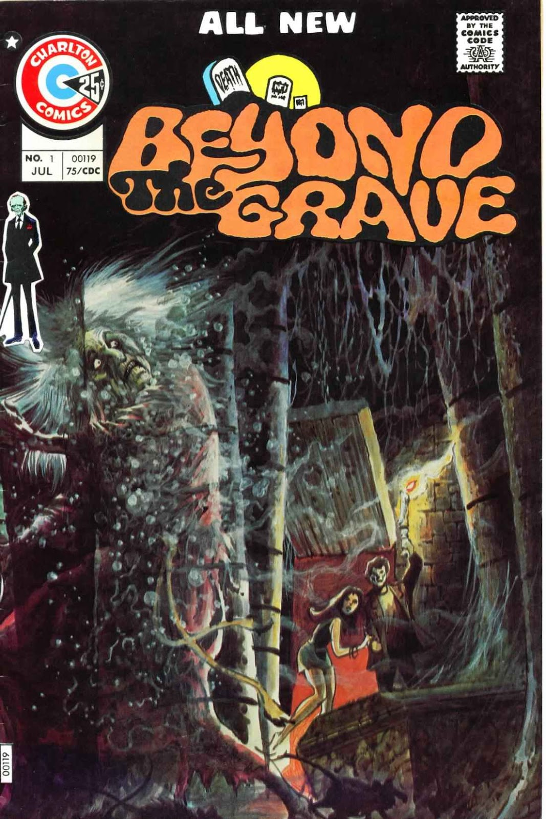 Beyond the Grave (1975) issue 1 - Page 1