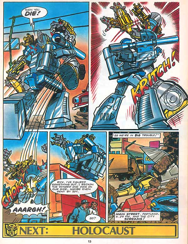 The Transformers (UK) 305 Page 12