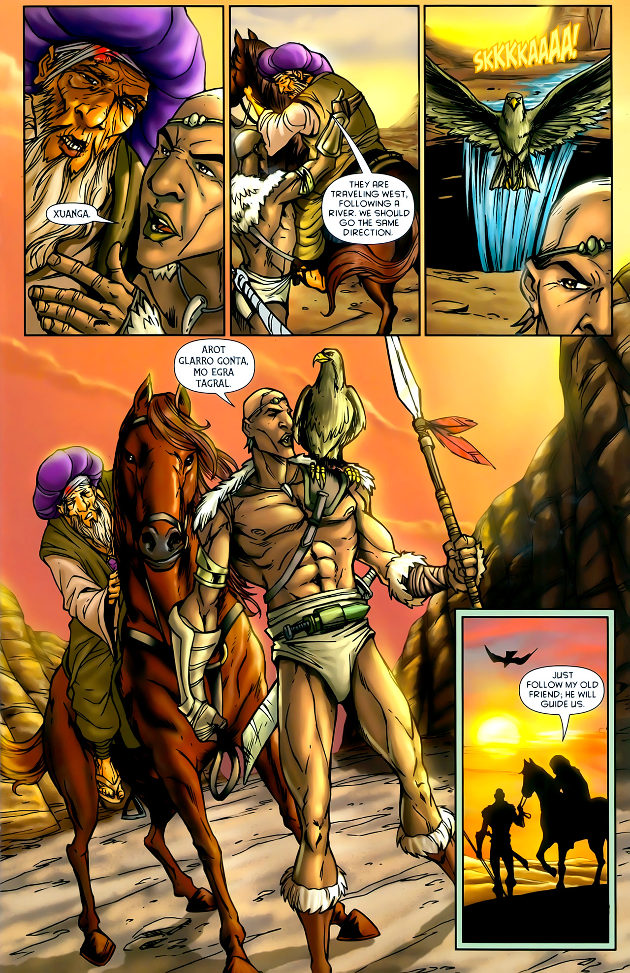 Read online 1001 Arabian Nights: The Adventures of Sinbad comic -  Issue #10 - 7