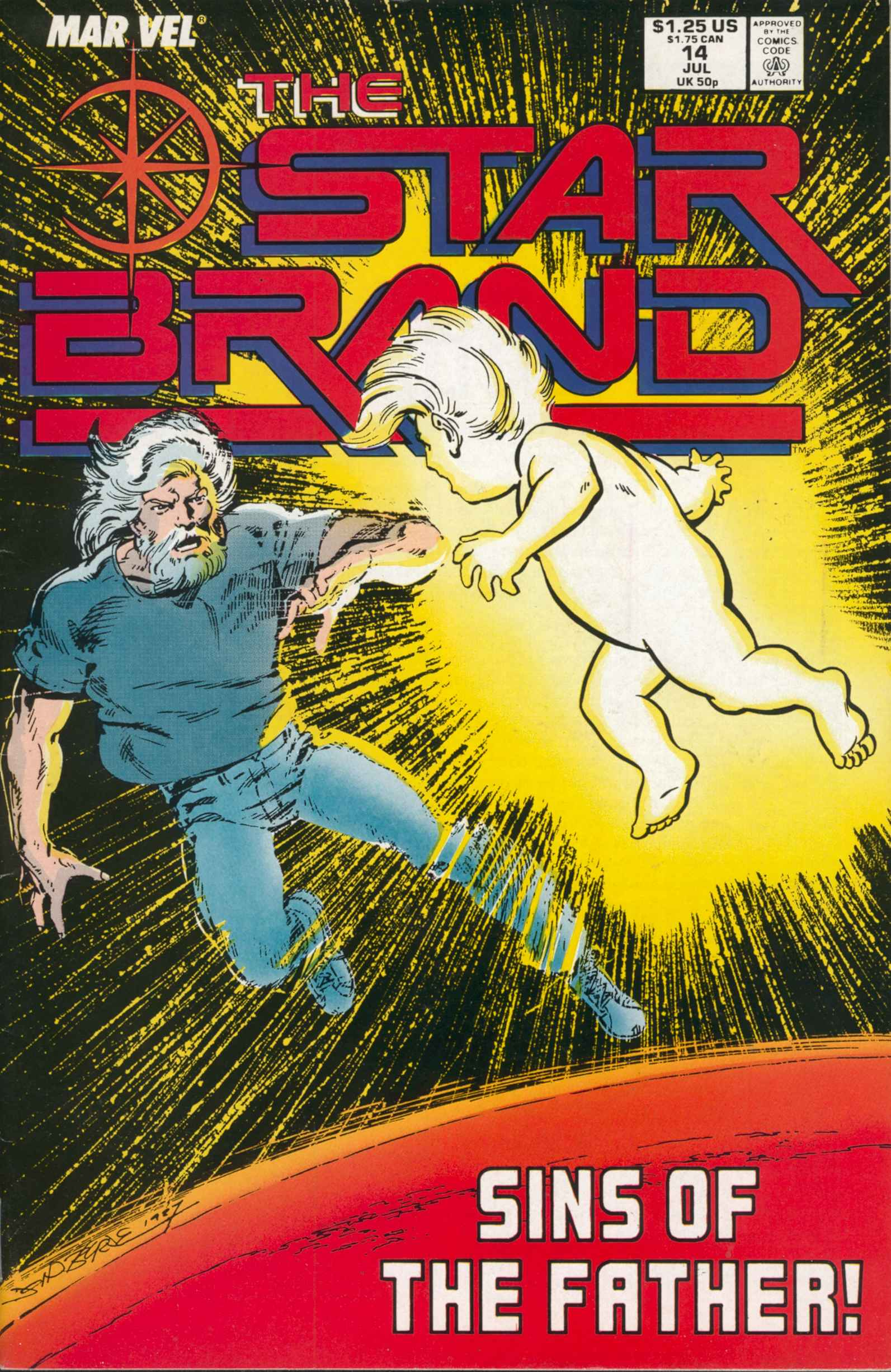 Read online Star Brand comic -  Issue #14 - 1