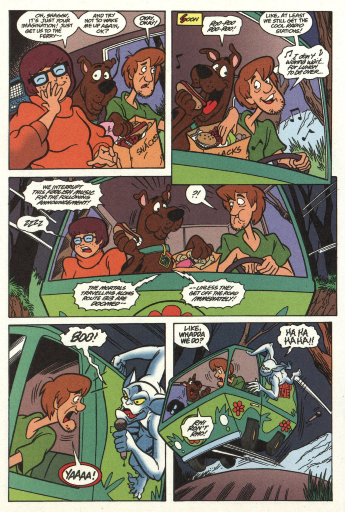 Read online Scooby-Doo (1997) comic -  Issue #18 - 5