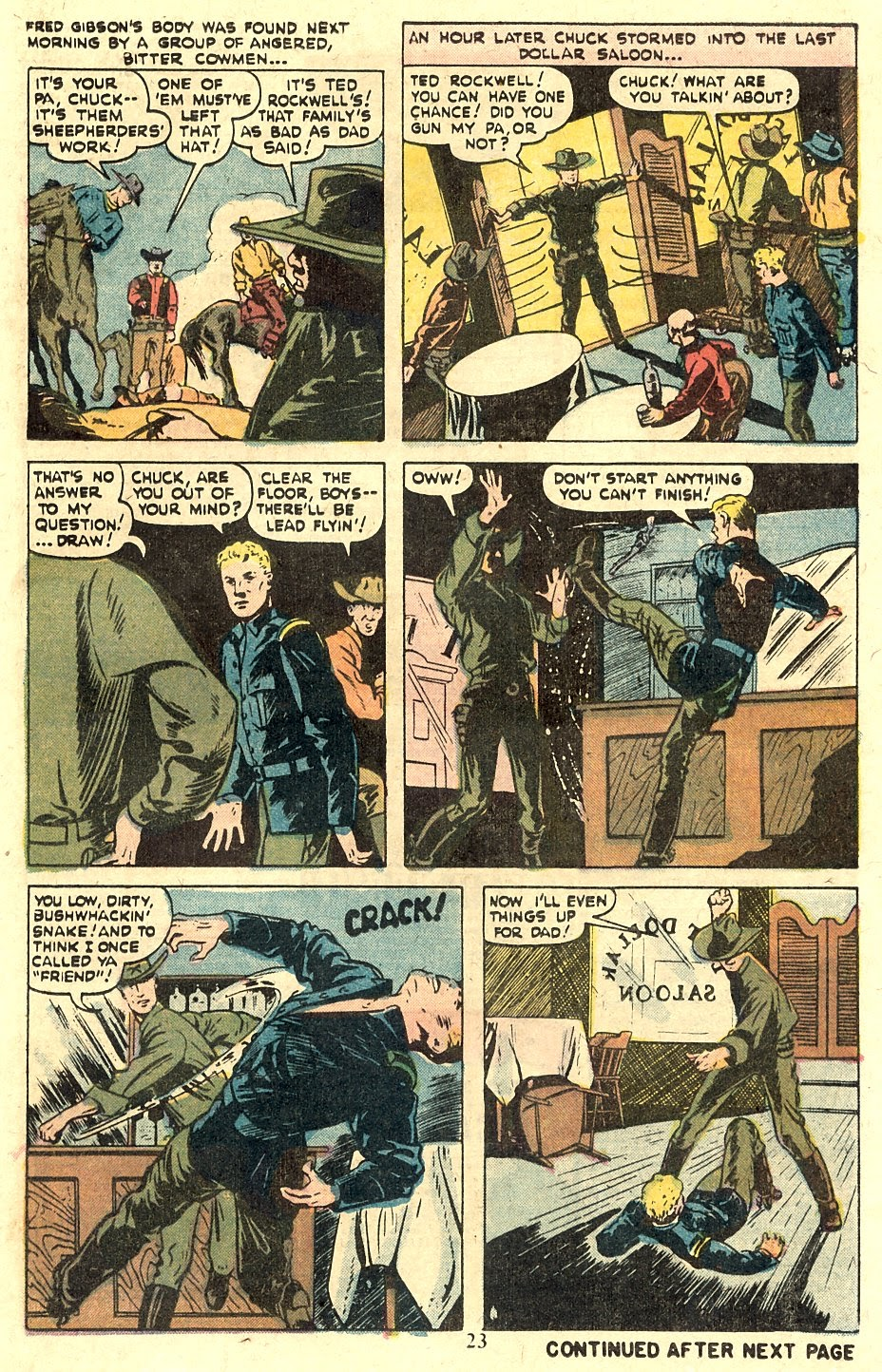 Kid Colt Outlaw issue 185 - Page 25
