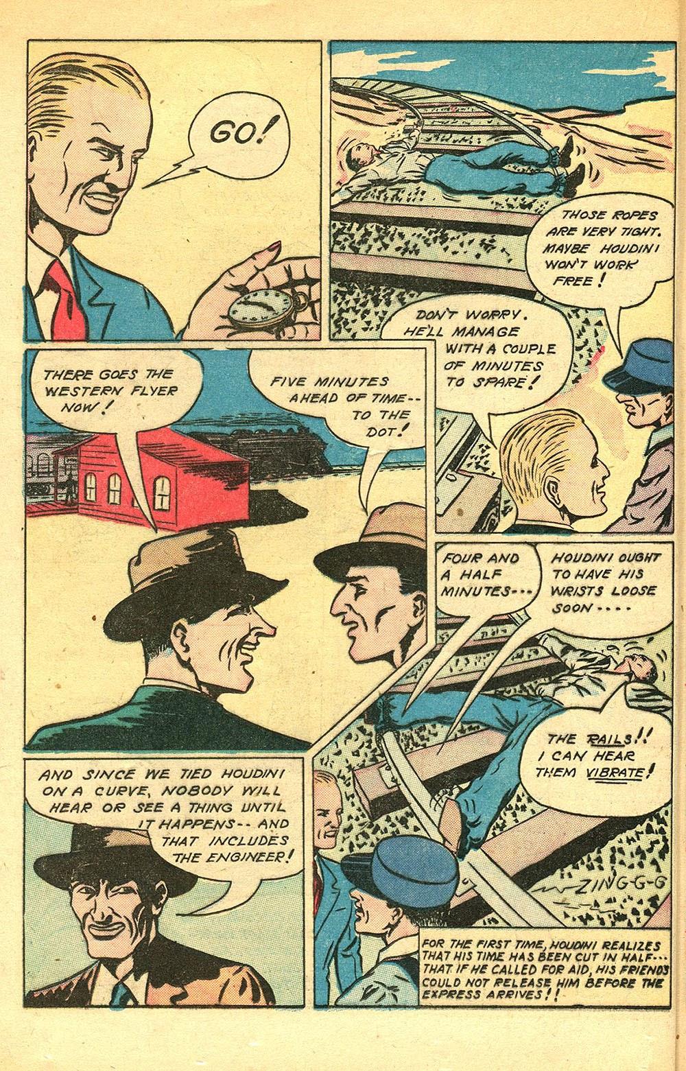 Read online Super-Magician Comics comic -  Issue #56 - 32