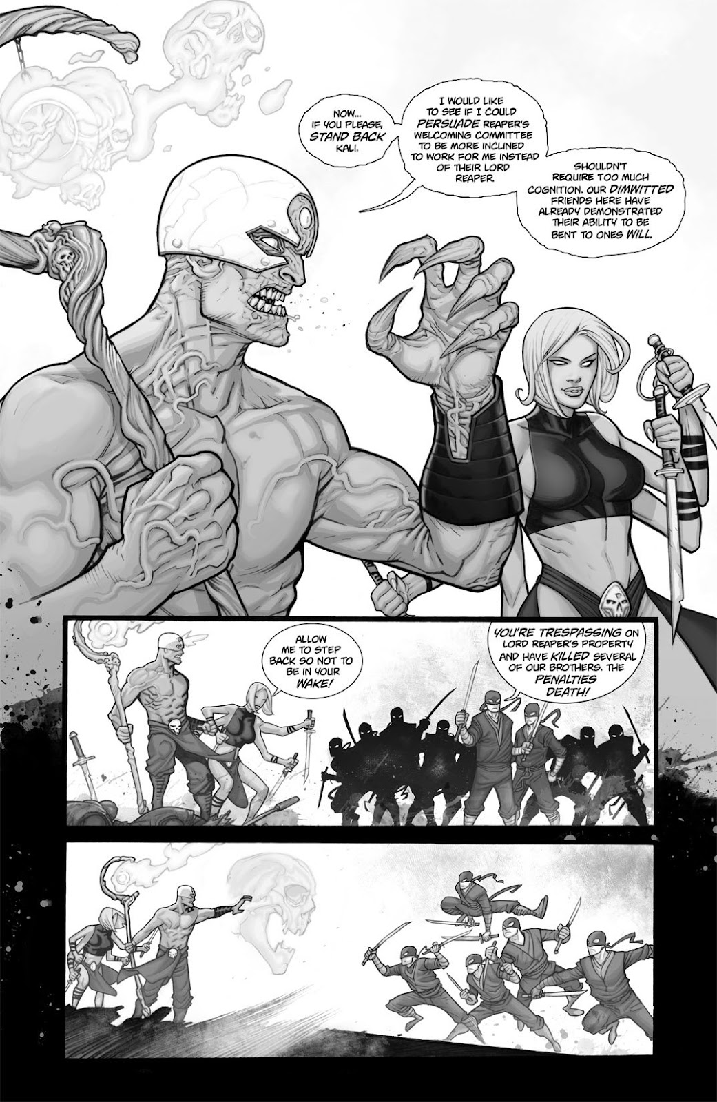 Read online Reaper comic -  Issue #2 - 12