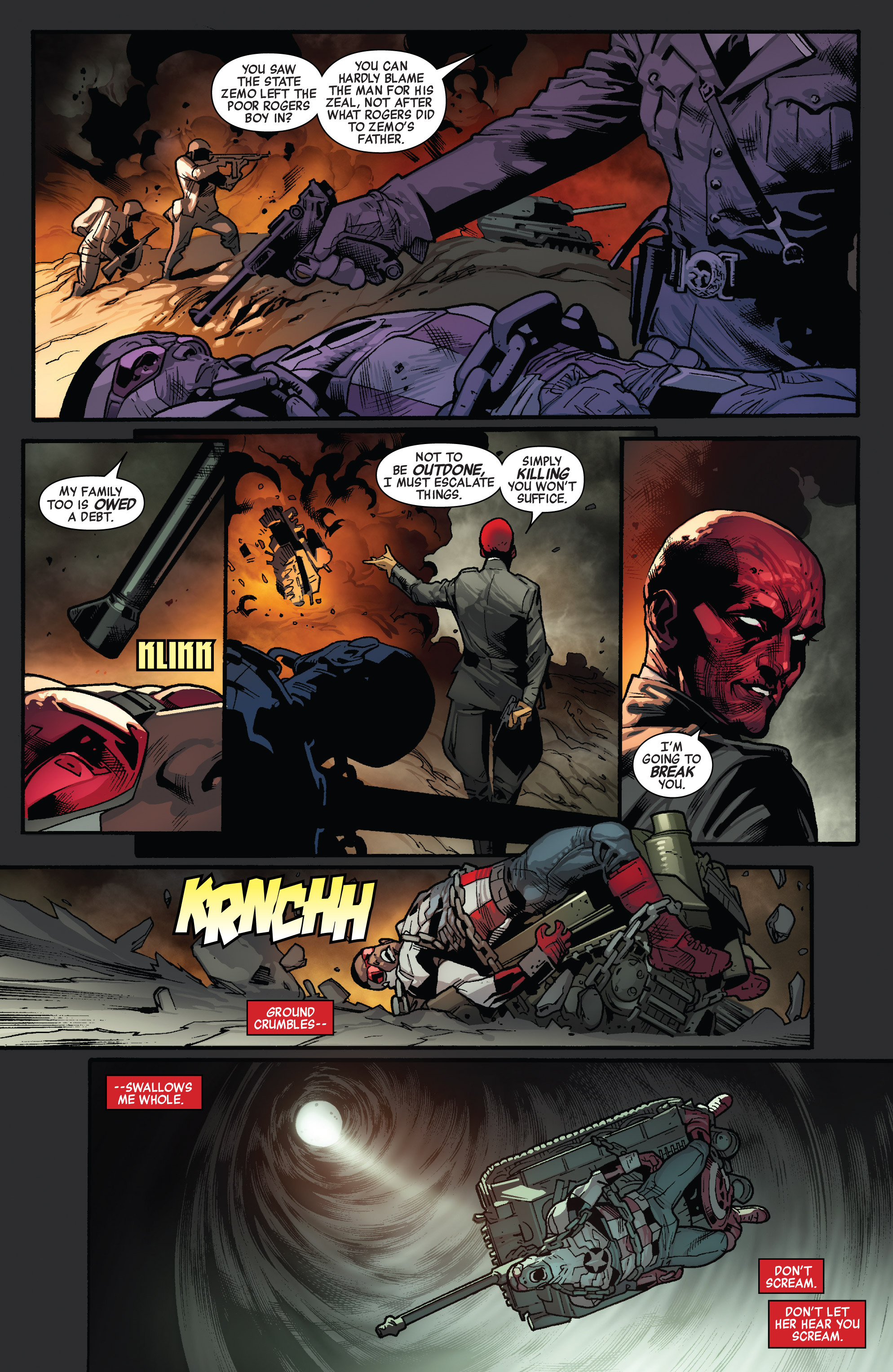 Read online All-New Captain America comic -  Issue #3 - 8
