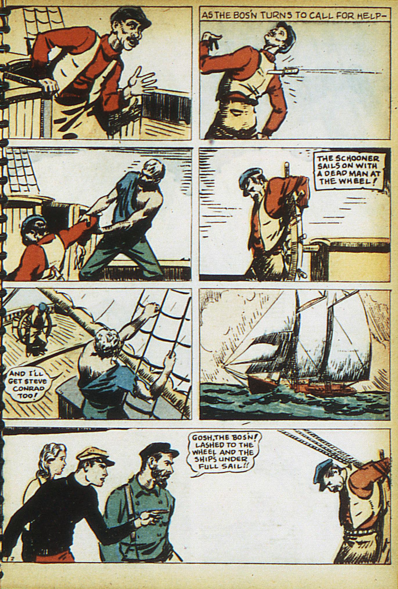 Read online Adventure Comics (1938) comic -  Issue #15 - 17