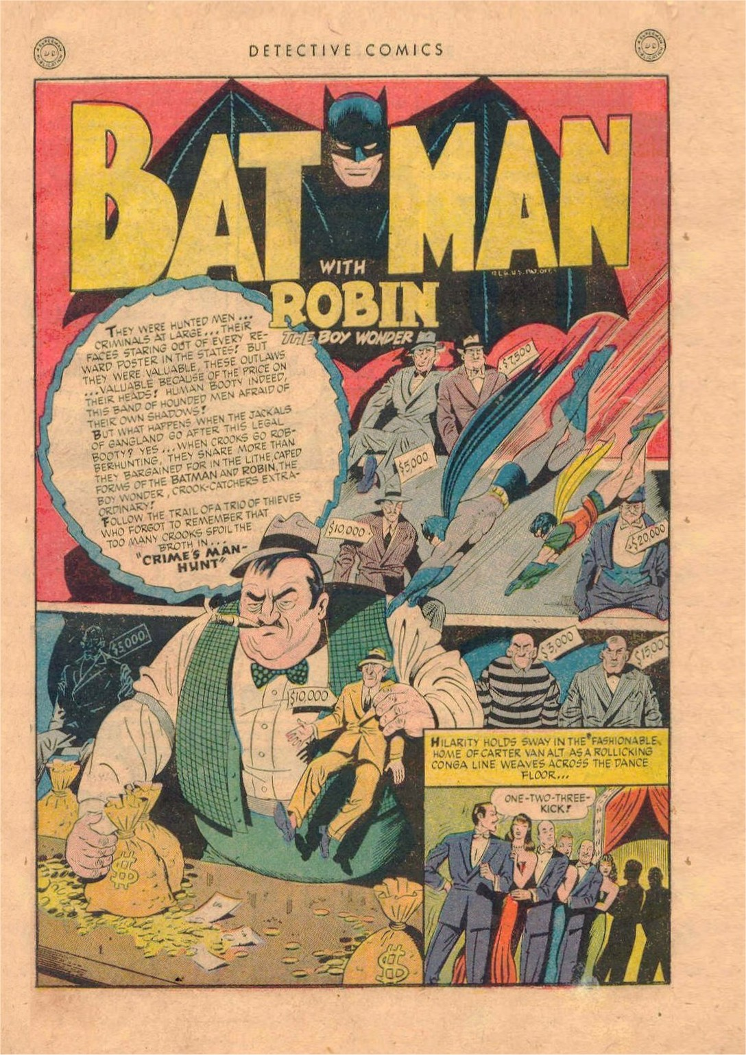 Read online Detective Comics (1937) comic -  Issue #92 - 3