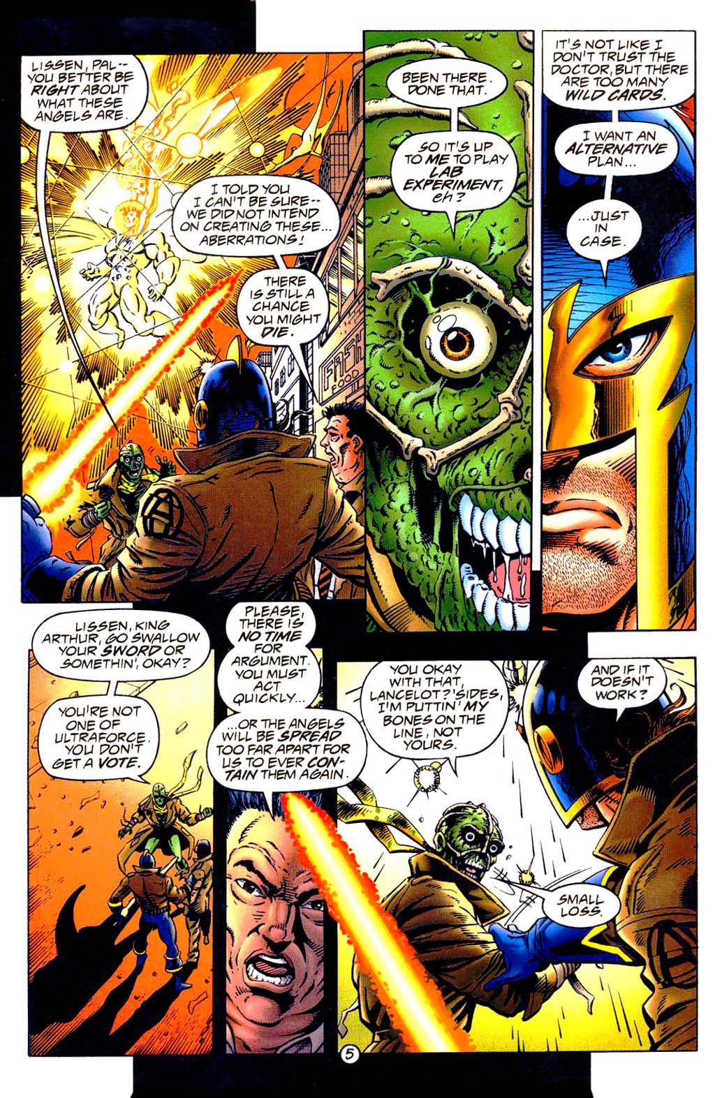 Read online UltraForce (1994) comic -  Issue #9 - 6