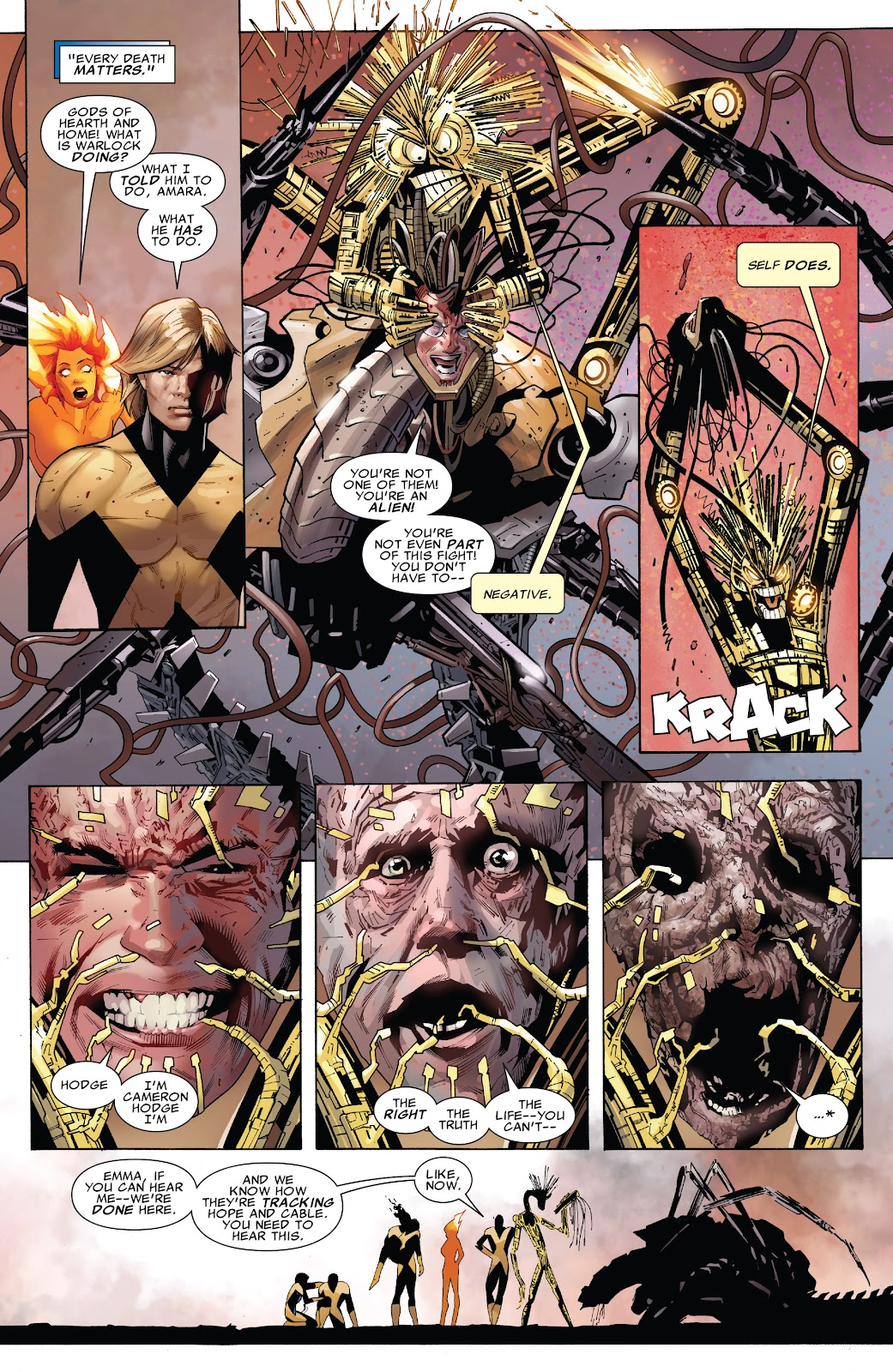 Read online X-Men: Second Coming comic -  Issue # _TPB (Part 2) - 6