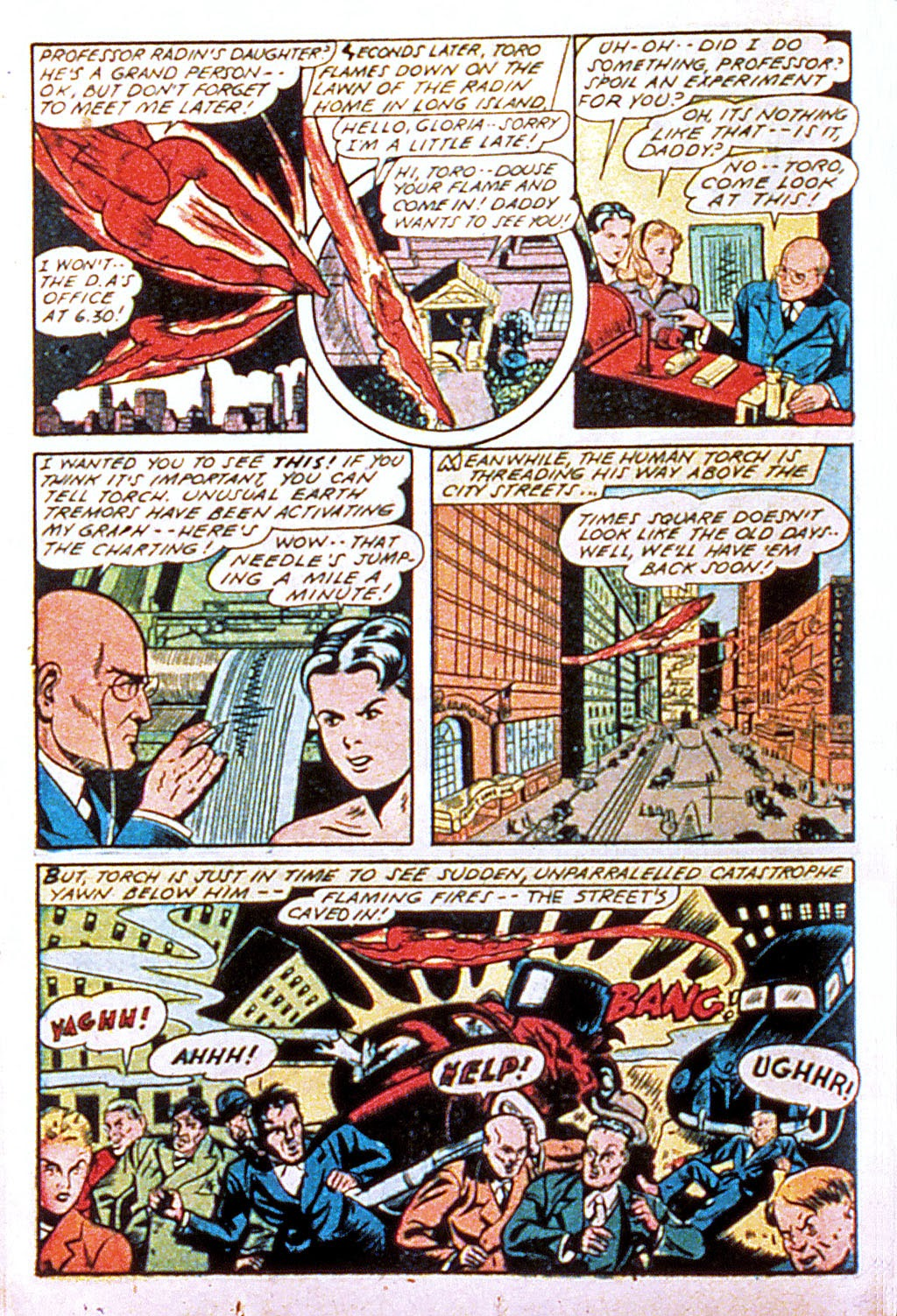 Read online Mystic Comics (1944) comic -  Issue #1 - 20