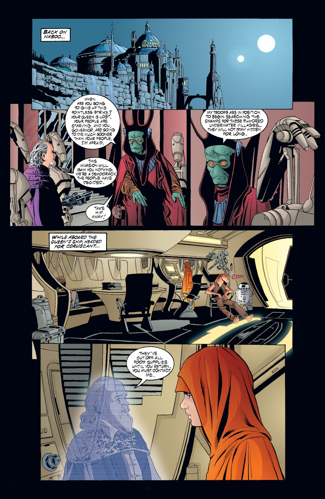 Read online Star Wars Legends: Rise of the Sith - Epic Collection comic -  Issue # TPB 2 (Part 3) - 98