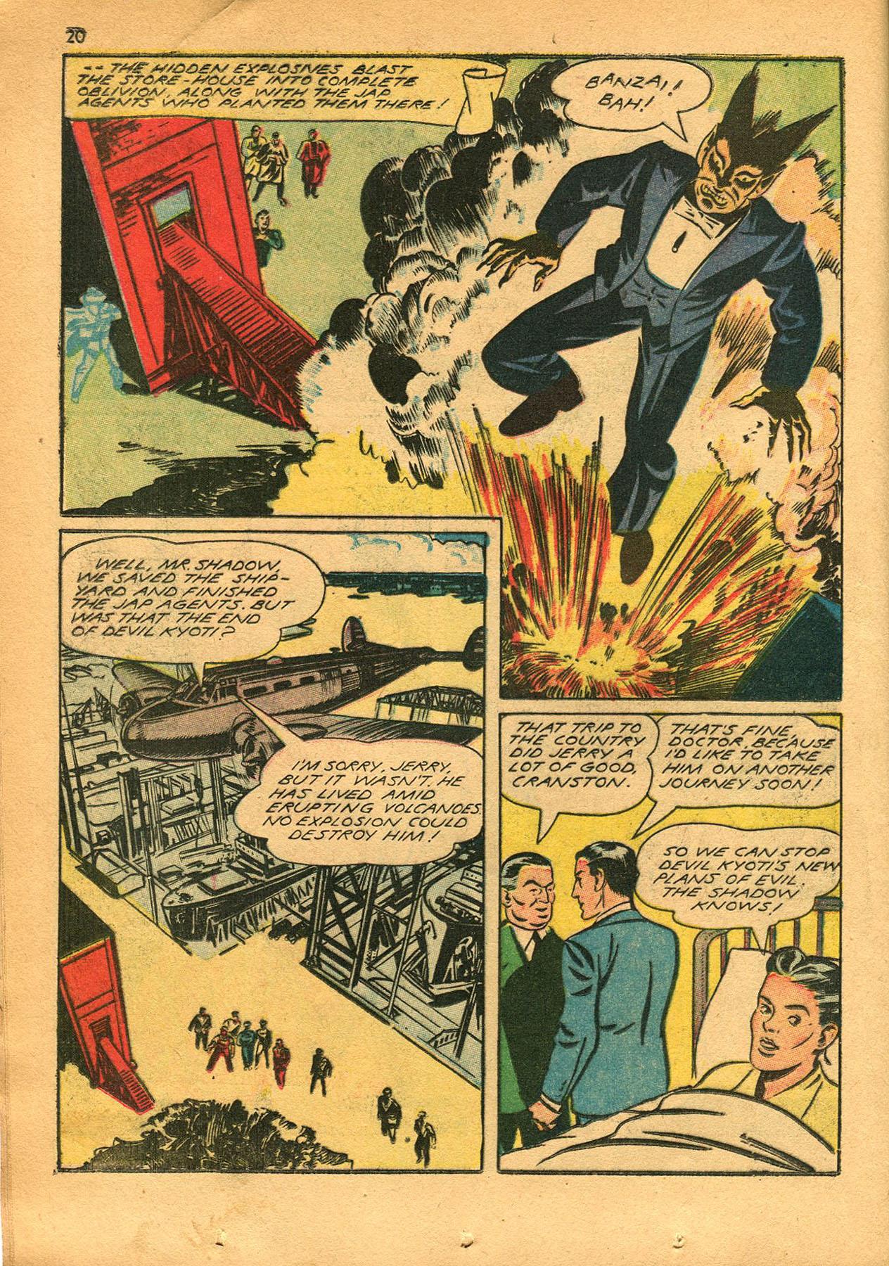 Read online Shadow Comics comic -  Issue #23 - 20