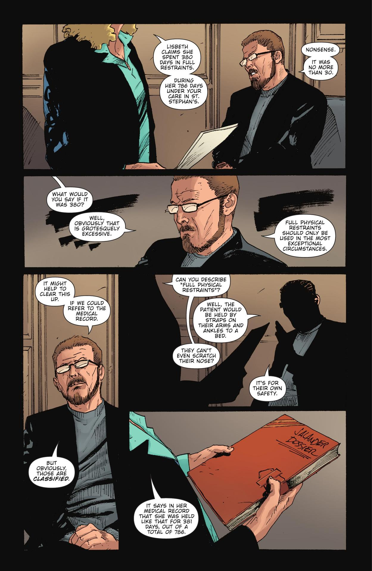 Read online The Girl Who Kicked The Hornet's Nest comic -  Issue # TPB - 242