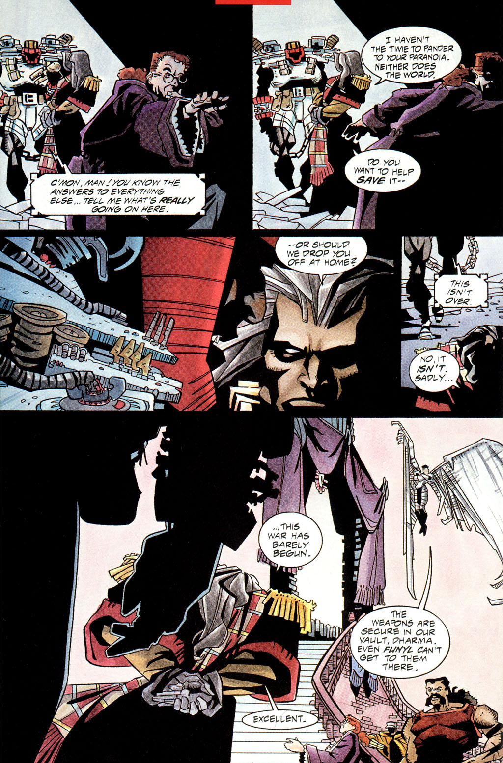 Read online Shadow Cabinet comic -  Issue #0 - 15