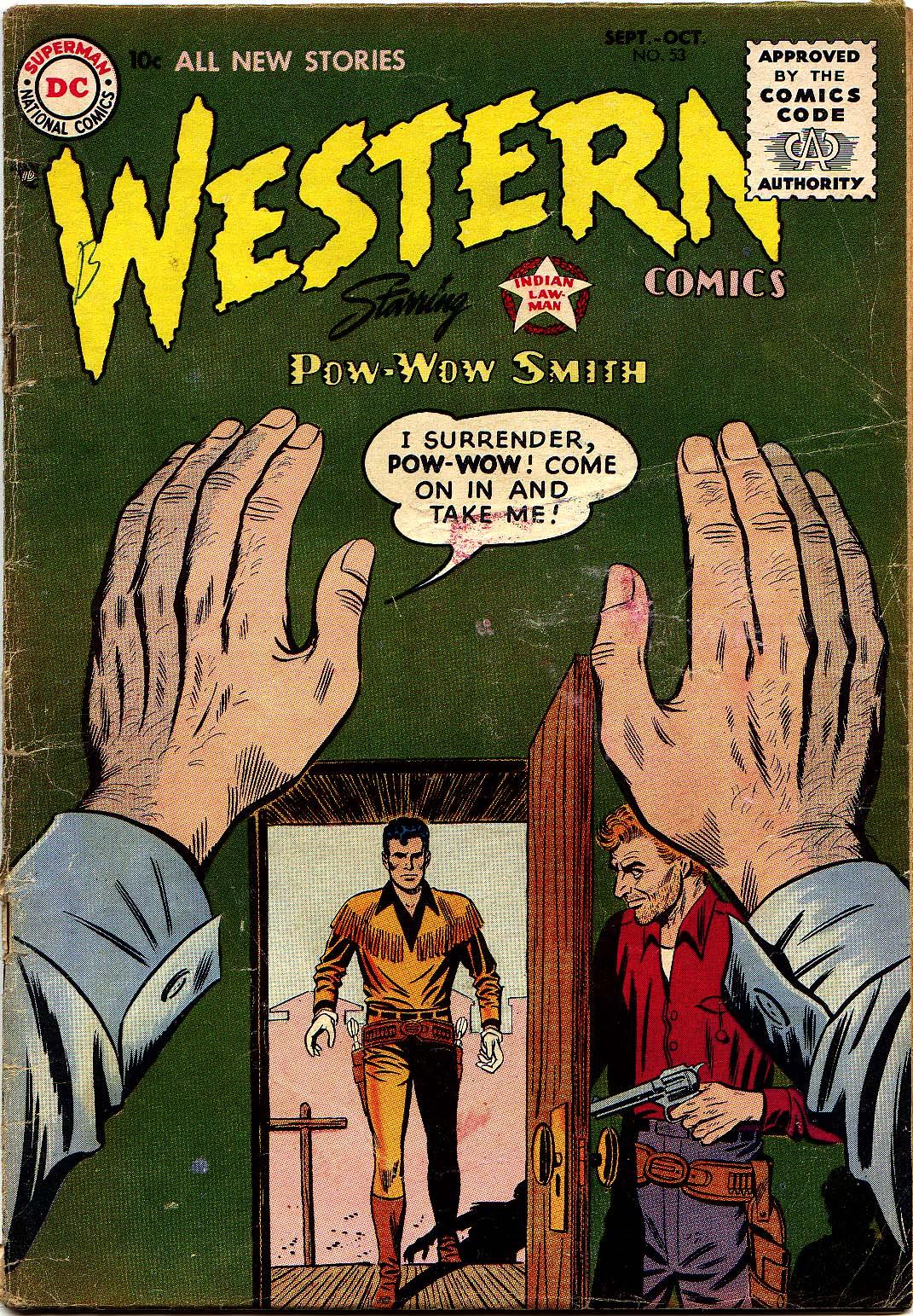 Western Comics 53 Page 1