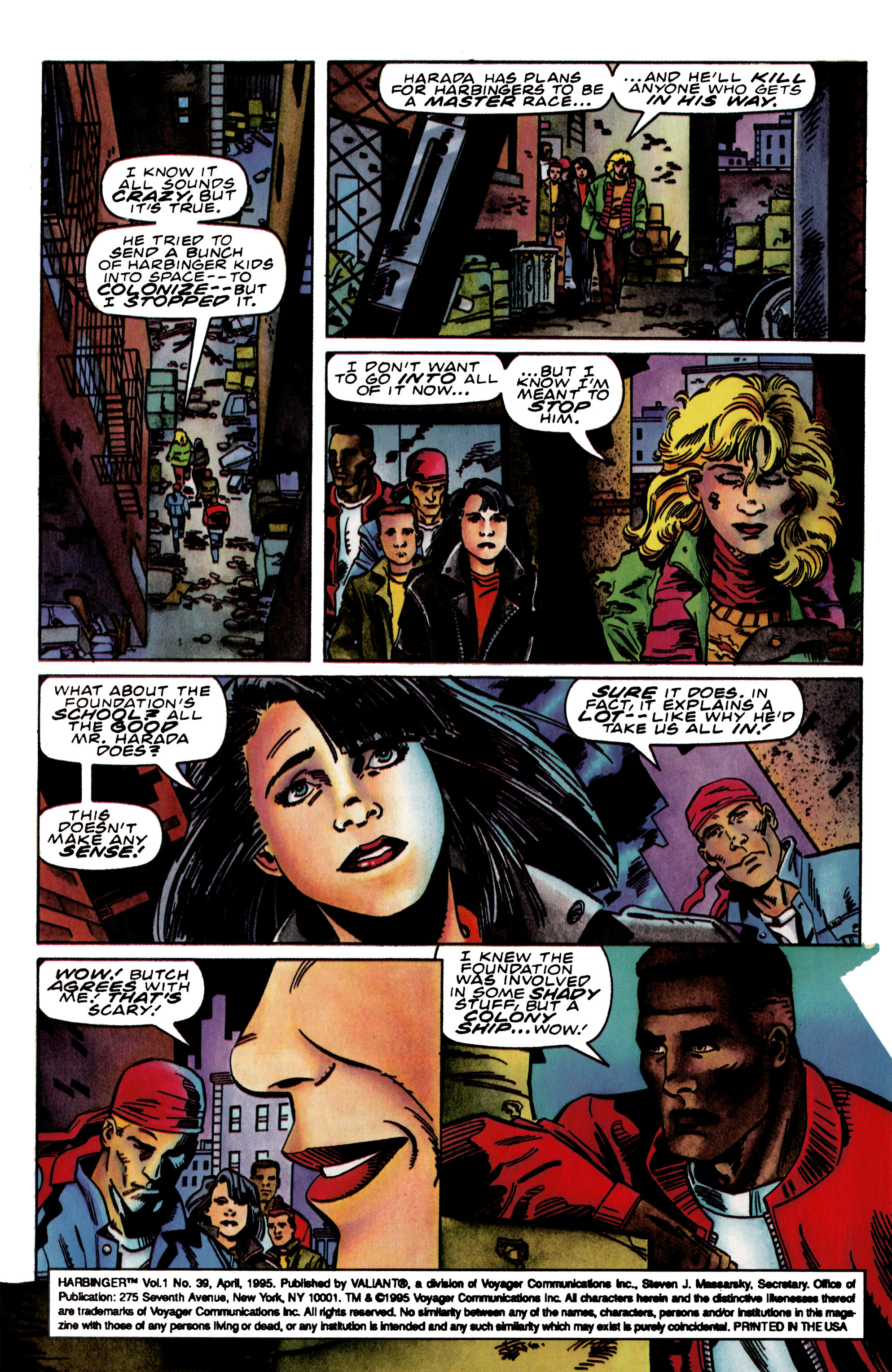 Read online Harbinger (1992) comic -  Issue #39 - 4