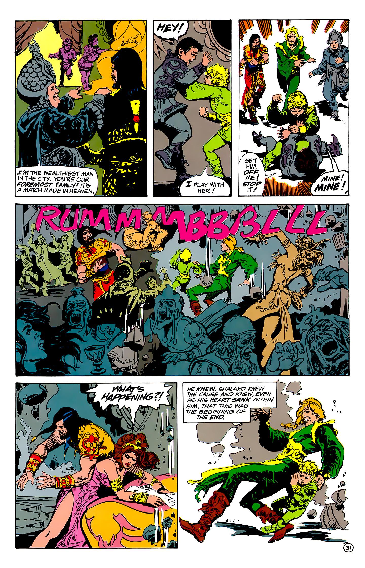 Read online Atlantis Chronicles comic -  Issue #1 - 31