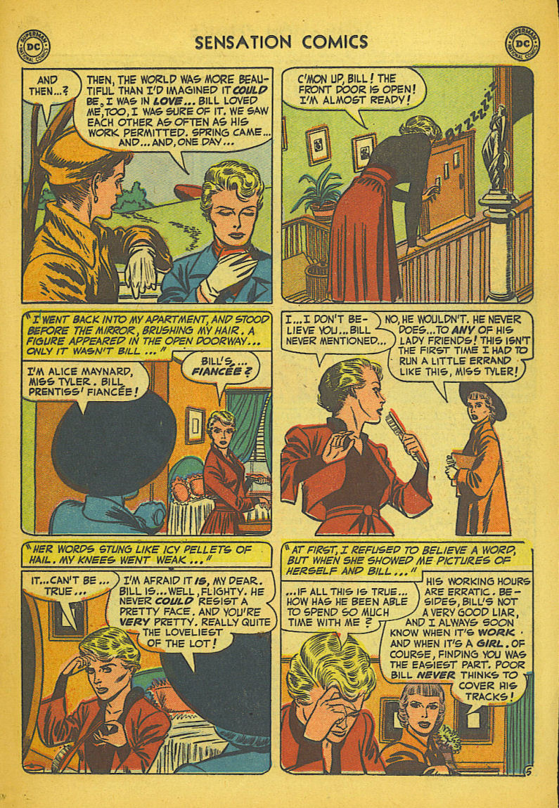 Read online Sensation (Mystery) Comics comic -  Issue #104 - 21