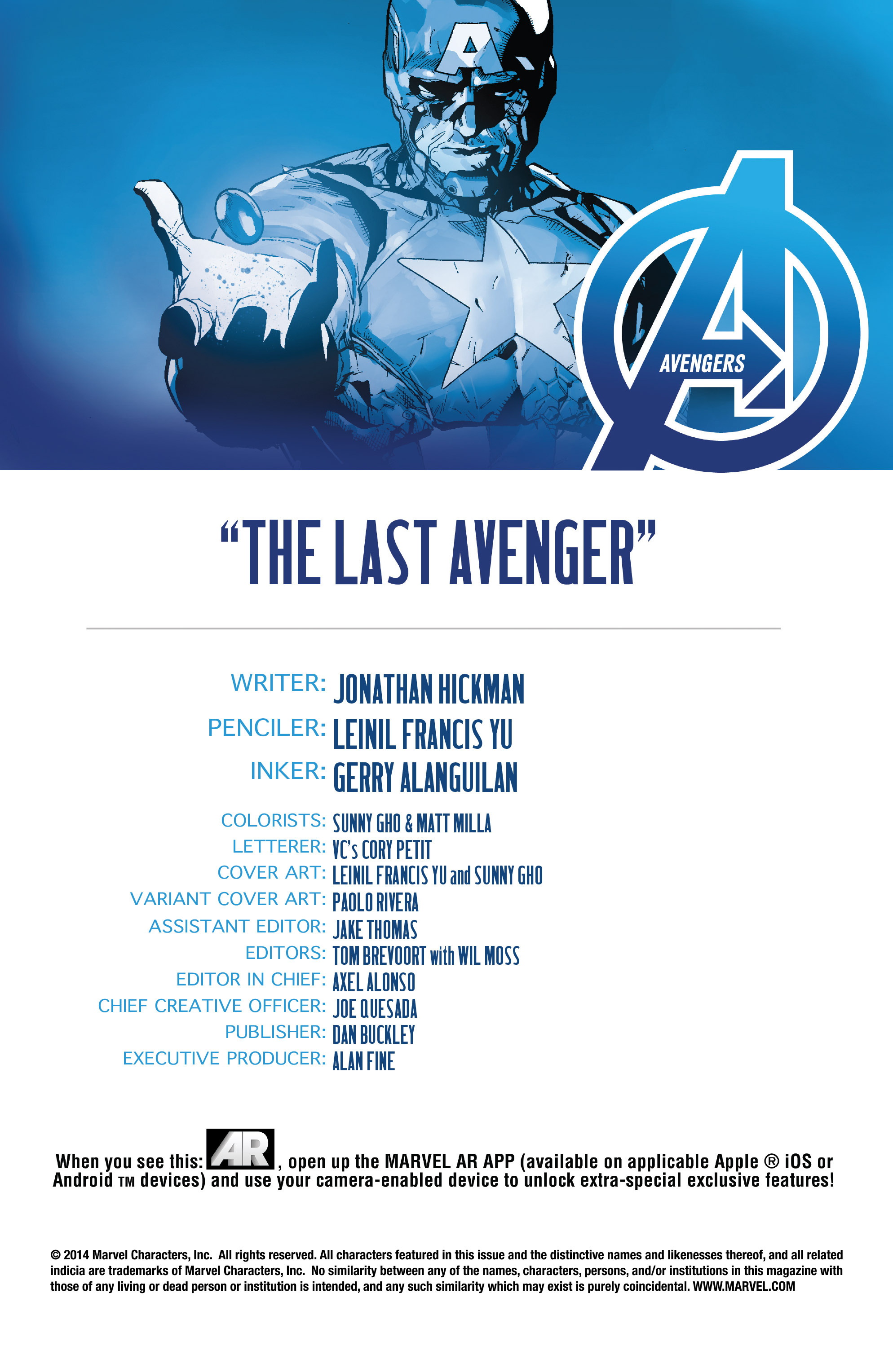 Read online Avengers (2013) comic -  Issue #Avengers (2013) _TPB 6 - 126