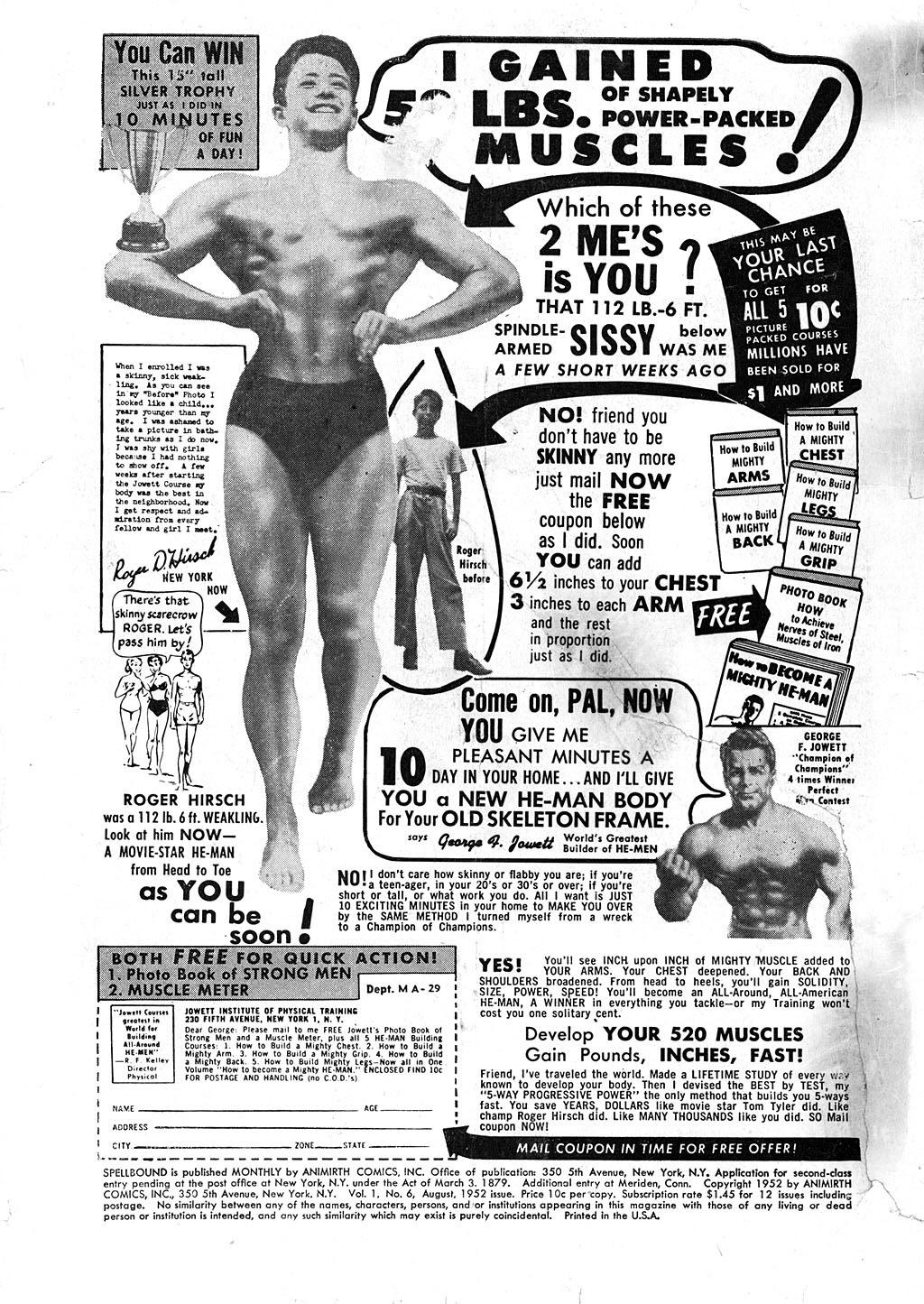 Spellbound (1952) issue 6 - Page 2