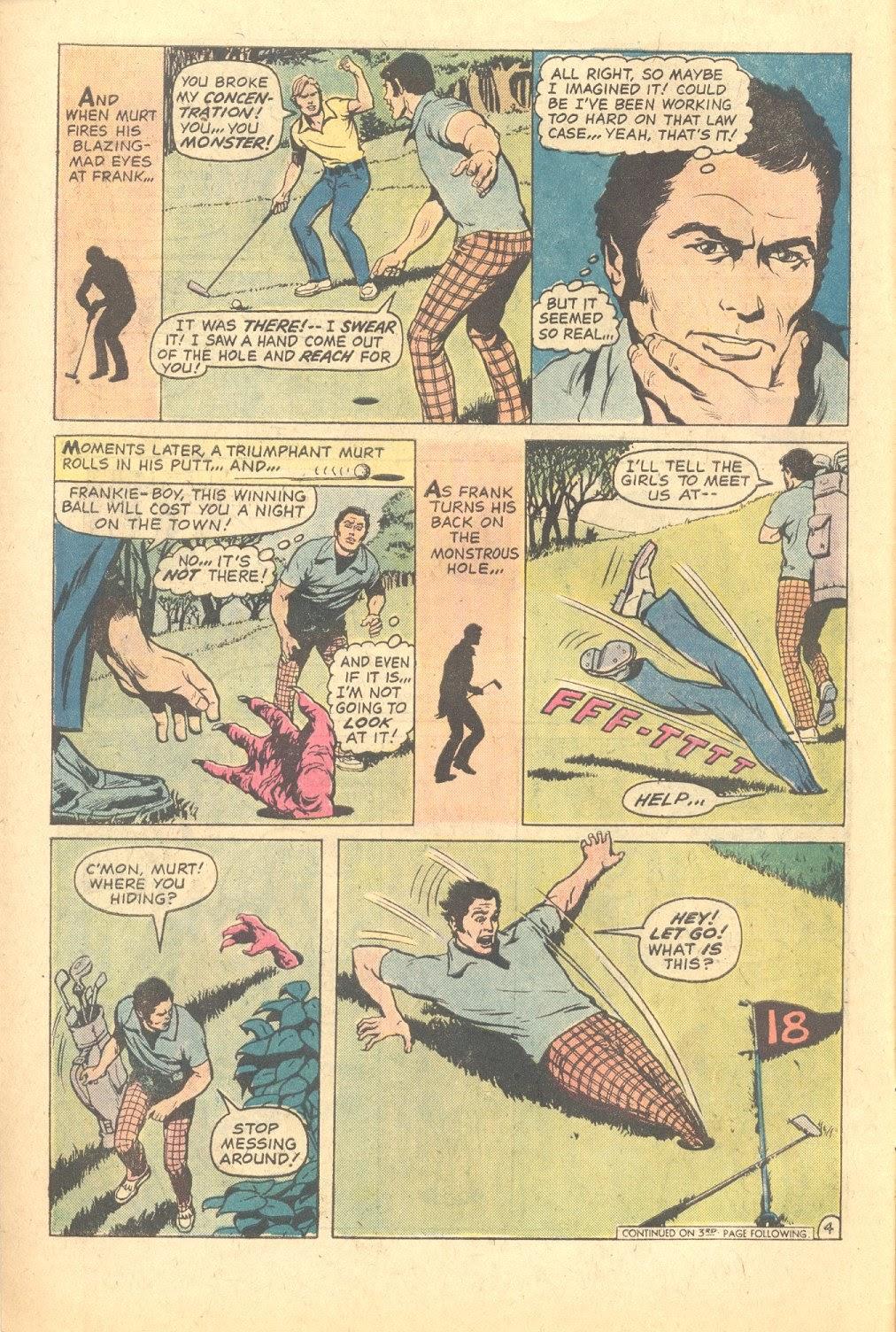 Read online Strange Sports Stories (1973) comic -  Issue #6 - 5