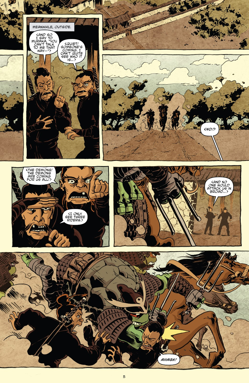 Read online Teenage Mutant Ninja Turtles: The IDW Collection comic -  Issue # TPB 5 (Part 1) - 45