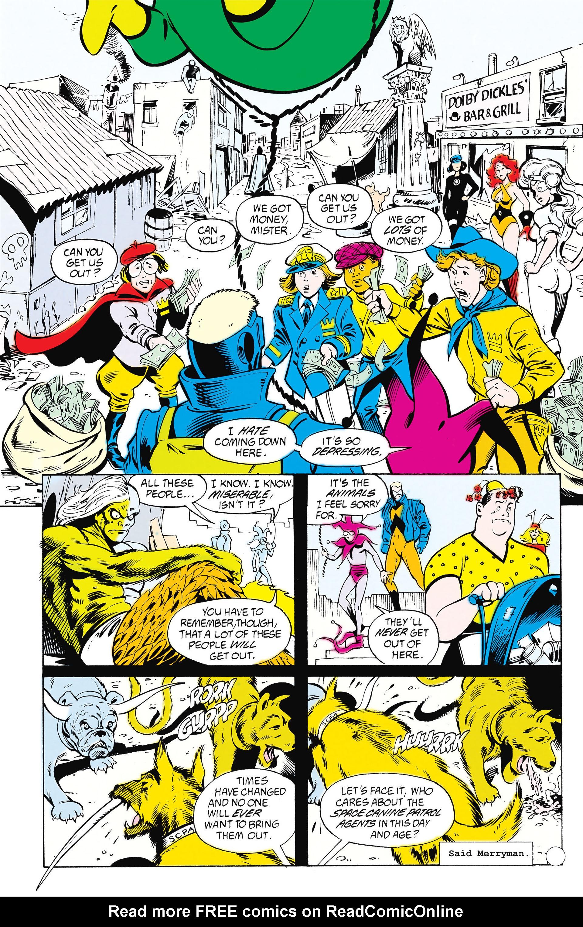 Read online Animal Man (1988) comic -  Issue #25 - 12