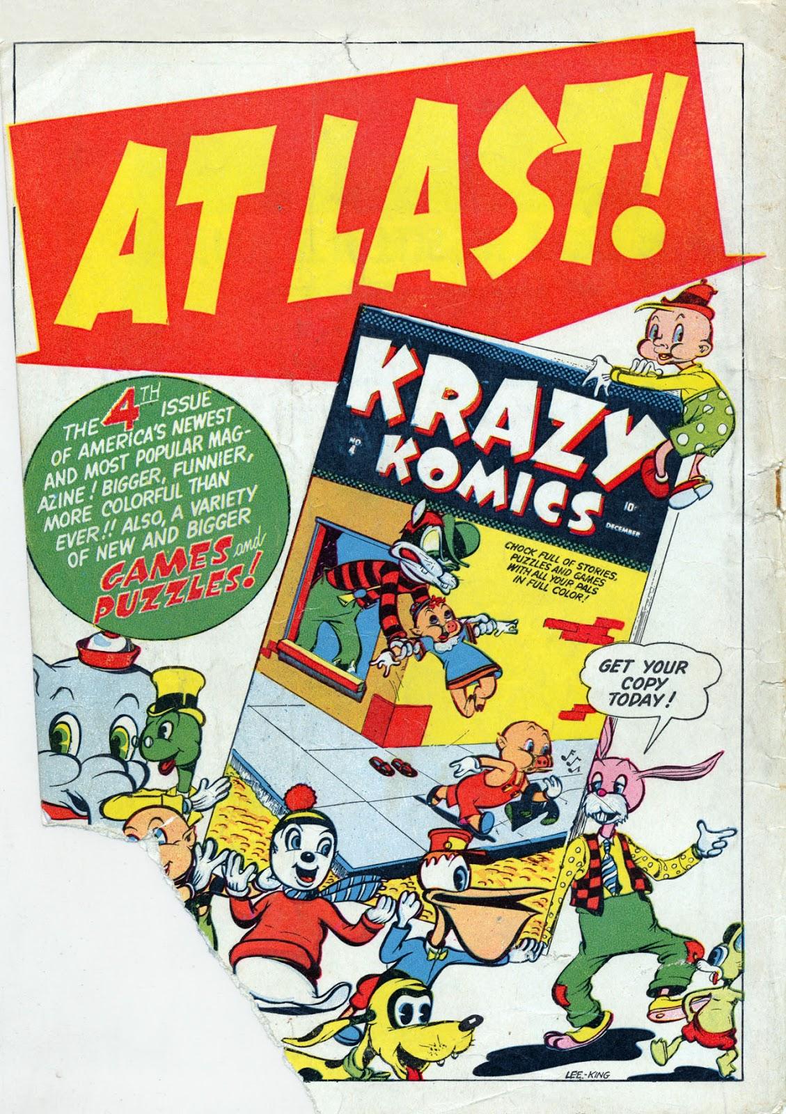 Read online Comedy Comics (1942) comic -  Issue #13 - 69