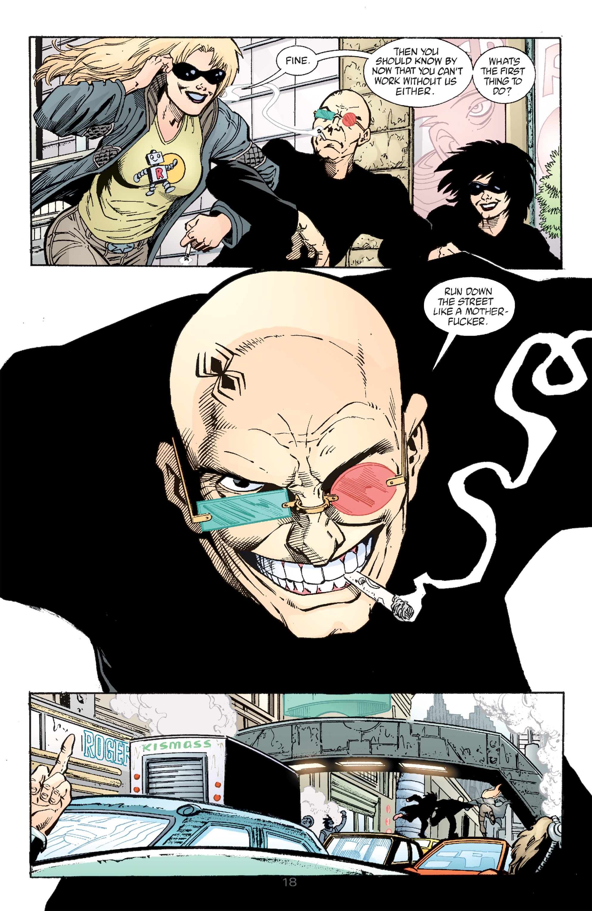 Read online Transmetropolitan comic -  Issue #49 - 19
