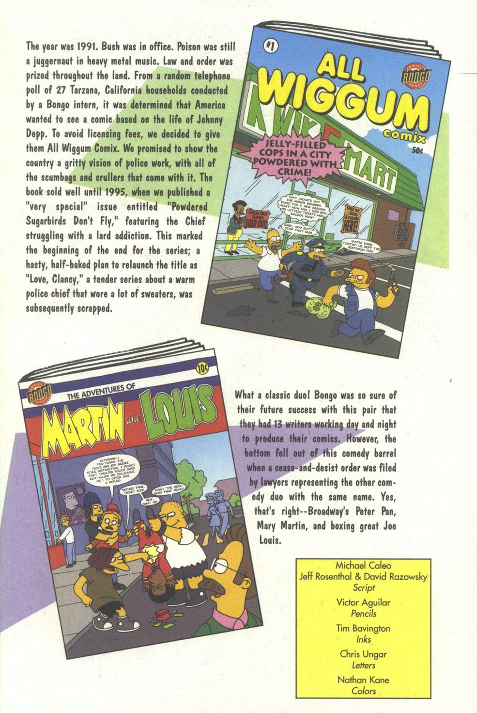 Read online Simpsons Comics comic -  Issue #35 - 32