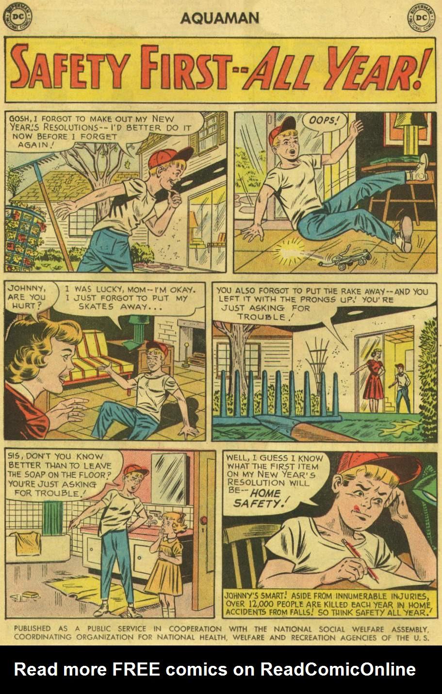 Read online Aquaman (1962) comic -  Issue #8 - 10