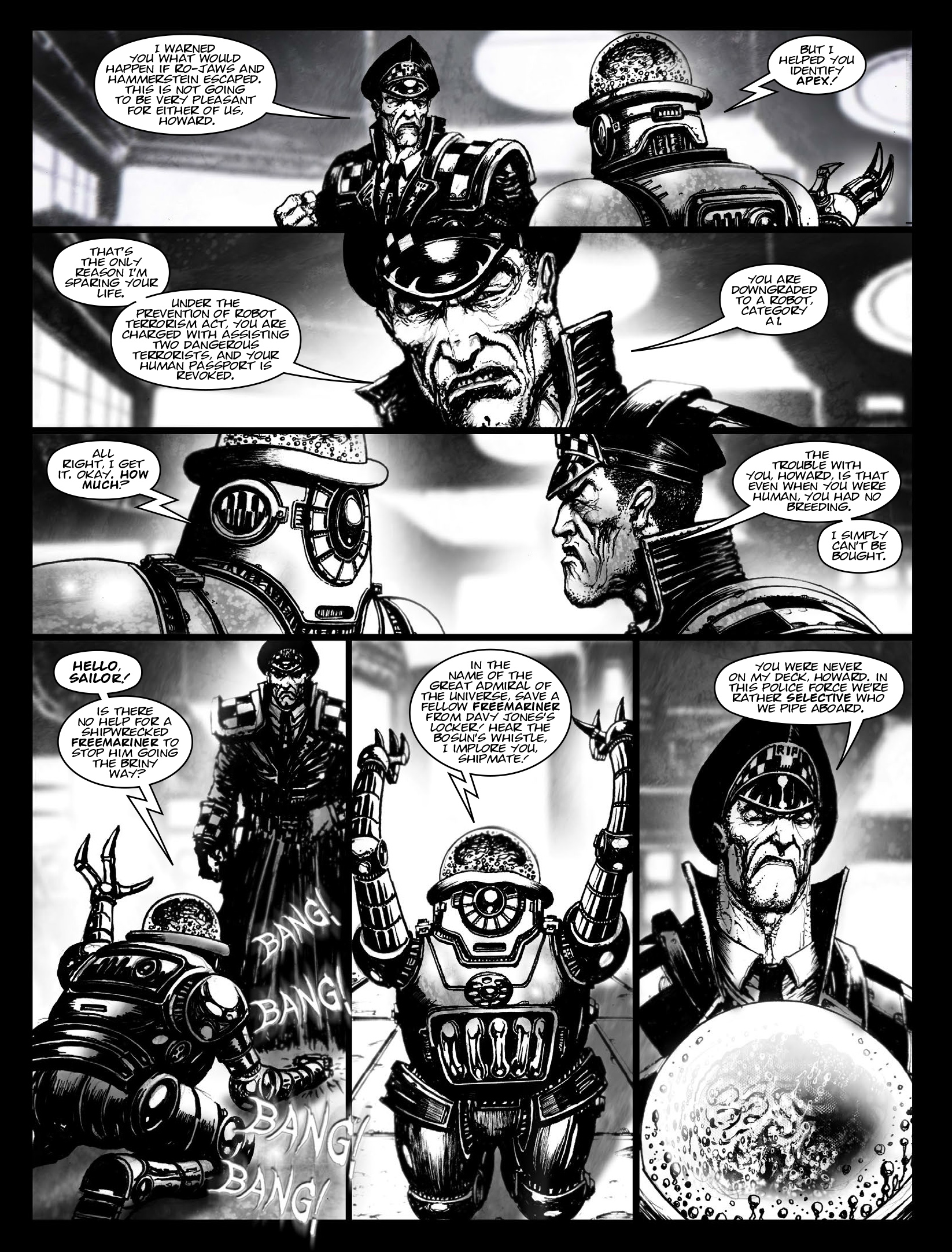 Read online 2000 AD comic -  Issue #1970 - 15