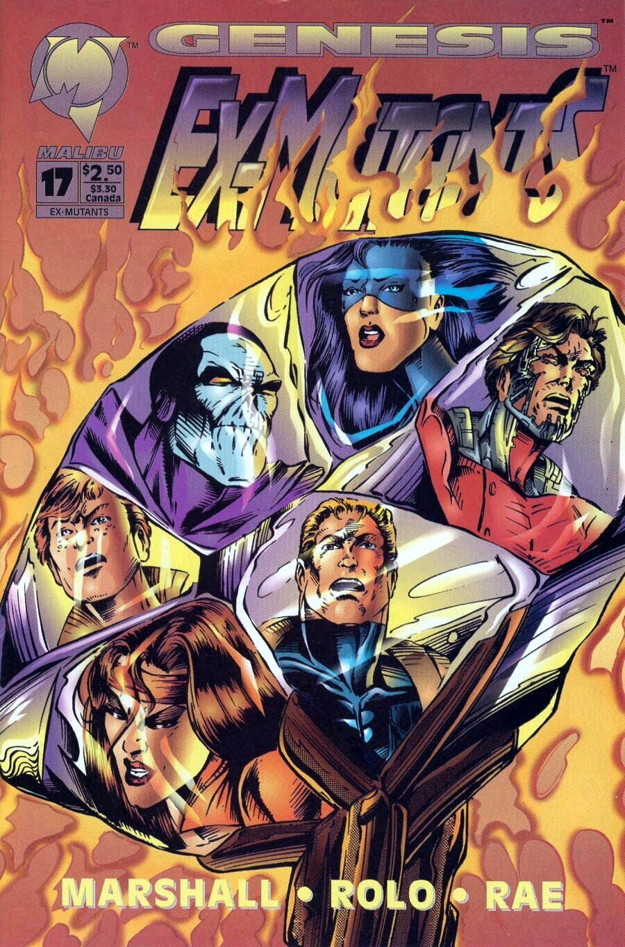 Read online Ex-Mutants comic -  Issue #17 - 1